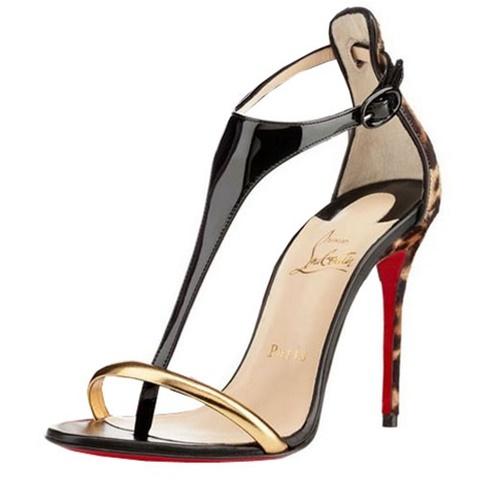 obuvki christian louboutin cherni sandali