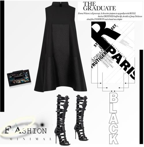 парти визия малка черна рокля