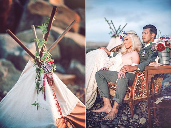 плажна сватба идеи