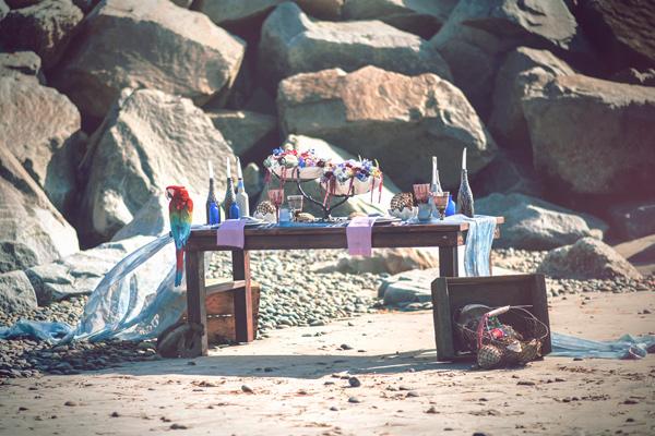 плажна сватба в бохемски стил идеи