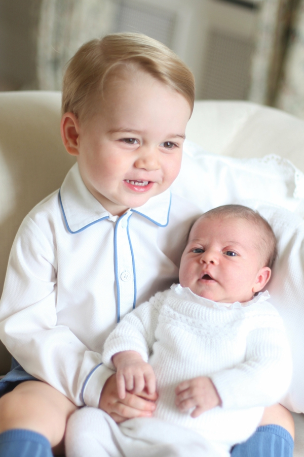 princ djordj princesa sharlot portret fotografiq