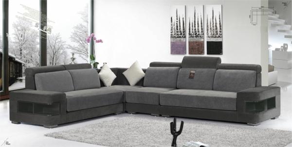 raztegatelen divan interior sivo model obzavejdane