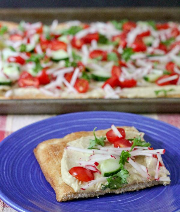 recepta za hlqb s humus i zelenchuci