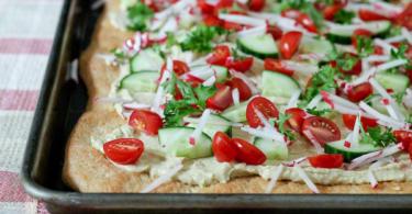 recepta za hlqb s humus zelenchuci