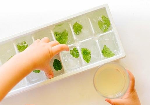 recepta za mentova limonada s med led