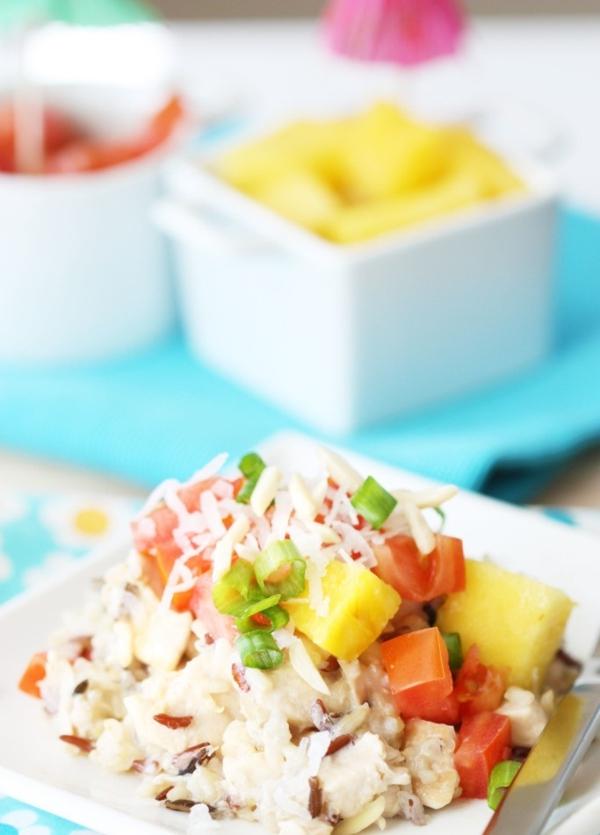 Лятна рецепта за  пилешко по хавайски