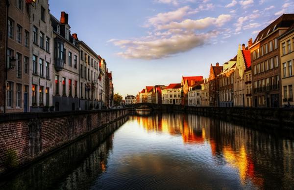 gradove romantichni briuge belgiq kanal zalez