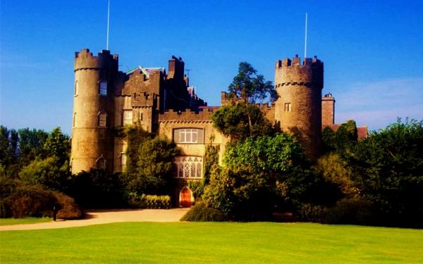 romantichni gradove dablin irlandiq zamak clontarf