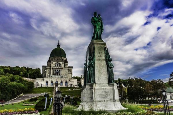romantichni gradove monreal kanada carkva st joseph