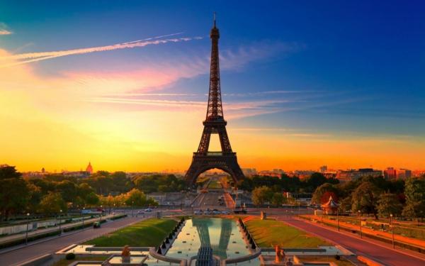 romantichni gradove parij franciq aifelova kula