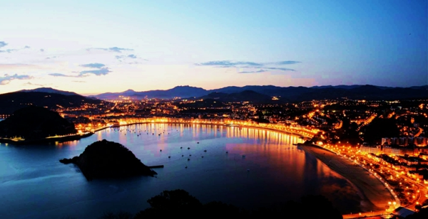 gradove romantichni san sebastian ispaniq svetlini zalez