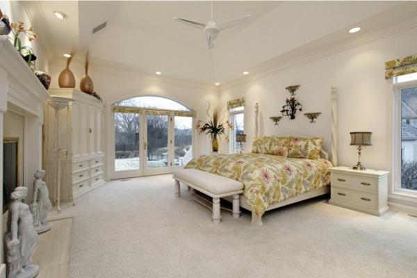 spalnq bqlo dizain interior obzavejdane leglo luksozen stil