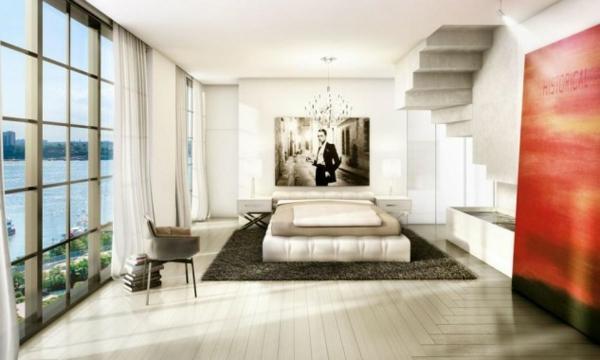 spalnq bqlo interioren dizain obzavejdane savremenen stil