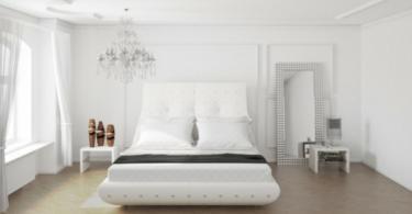 Стилни и модерни спални в бяло