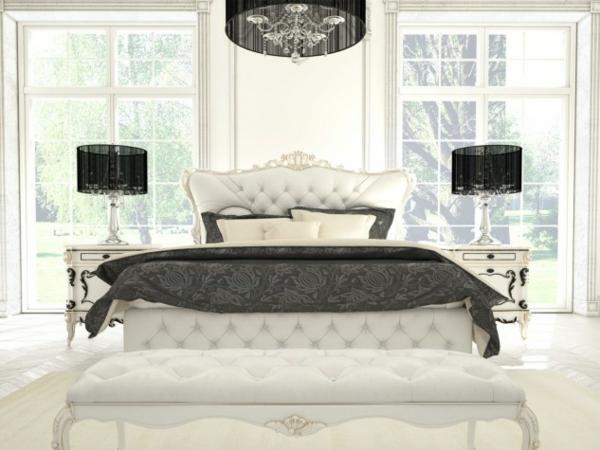 spalnq v bqlo obzavejdane luksozen stil interior dizain mebeli