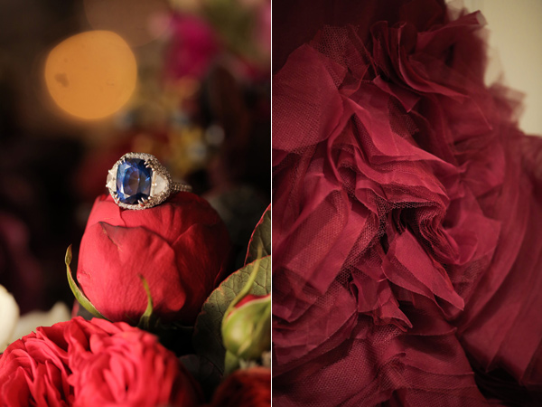 svatba v cherveno