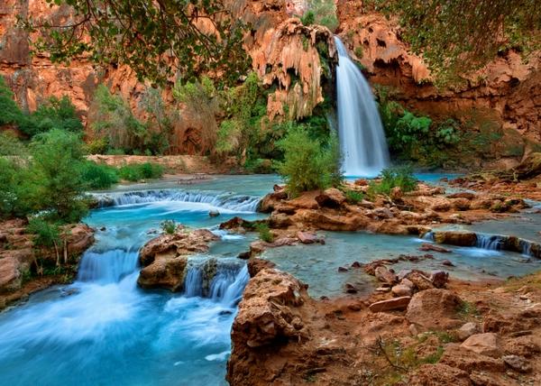 vodopad skali amerika havasu arizona