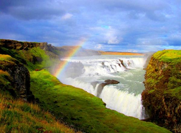 vodopadi po sveta gullfoss islandiq