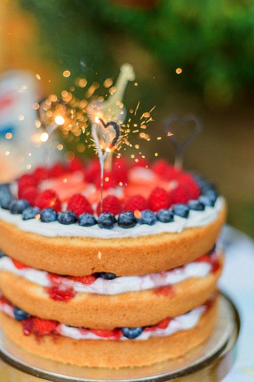 бебешко парти плодова торта