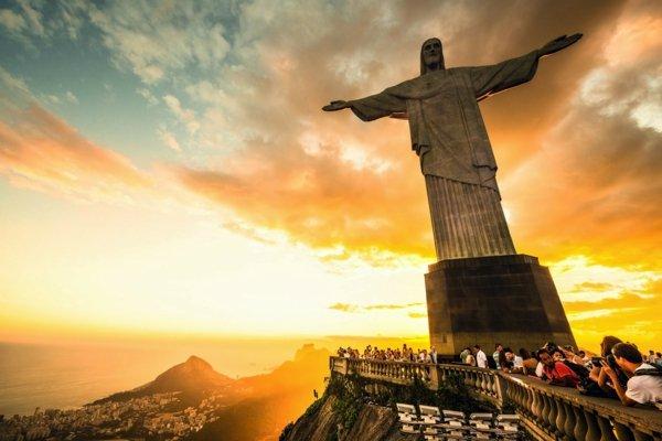 бразилия статуя исус христос забележителности дестинация