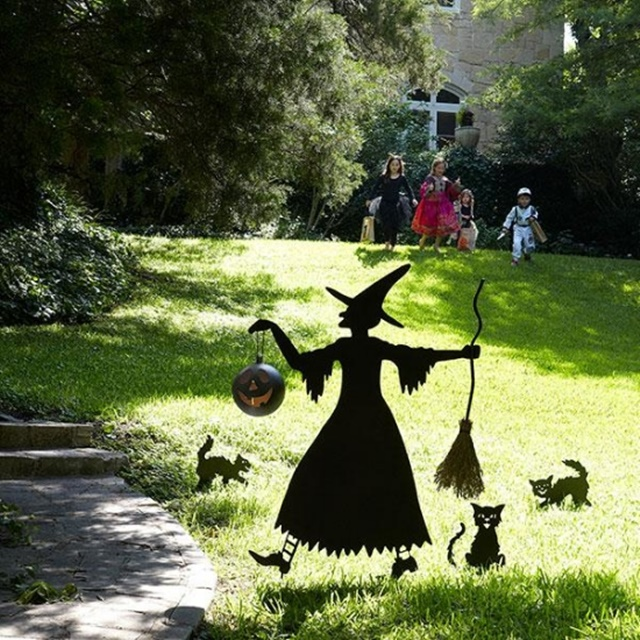 декорация за хелоуин вещица