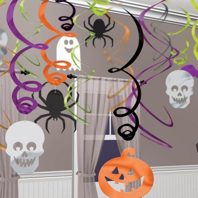 декорация-за-хелоуин-паяци