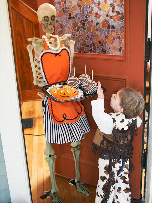 декорация за хелоуин сладки