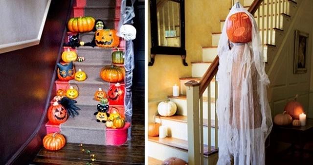 декорация за хелоуин тиква