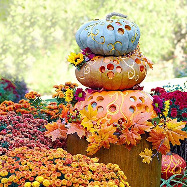 декорация за хелоуин тикви