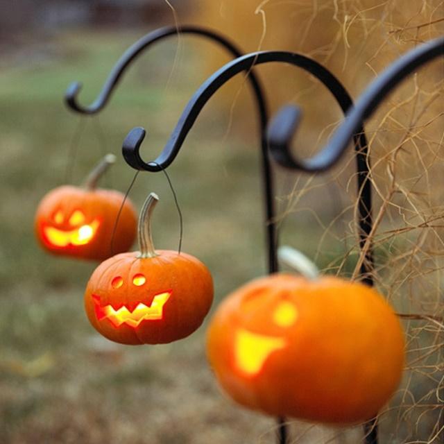 декорация за хелоуин тикви1