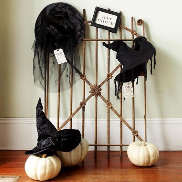 декорация за хелоуин шапки