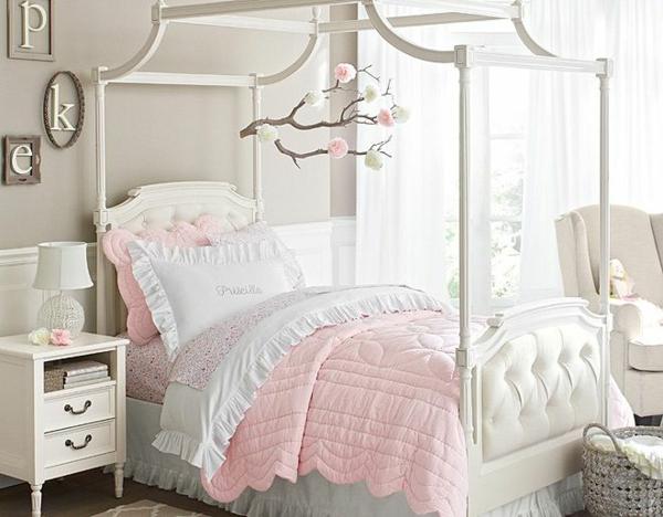 детска стая момичета сиво розово