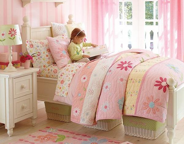 детска стая момичета розово