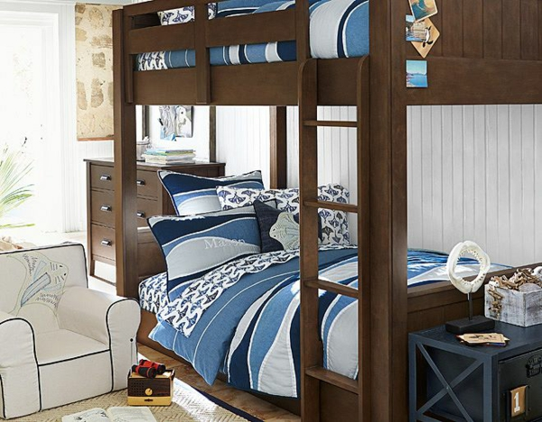 детска стая момчета идеи двуетажно легло