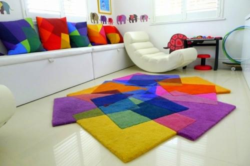 Подходящите детски килими в стаята за игри