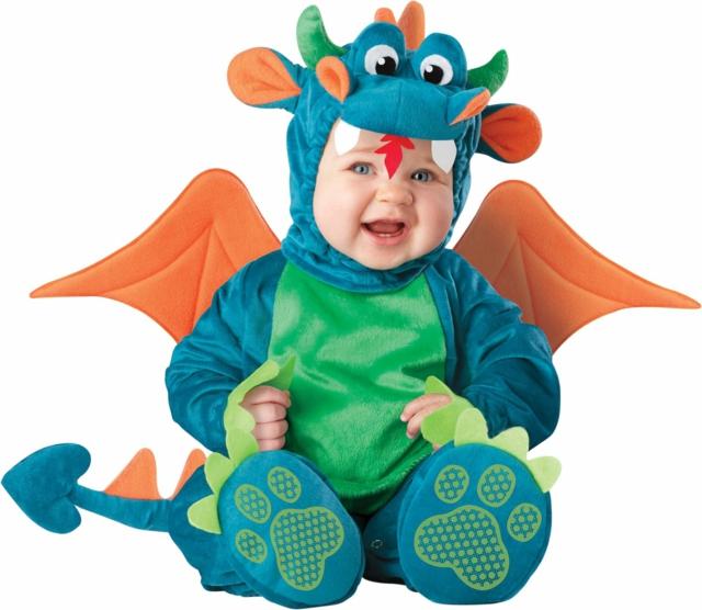 детски костюми за хелоуин дракон