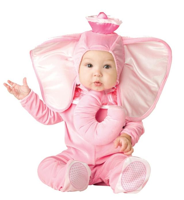 детски костюми за хелоуин слон
