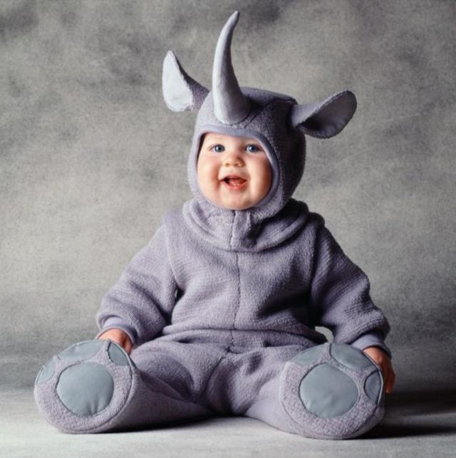 детски костюми хелоуин носорог