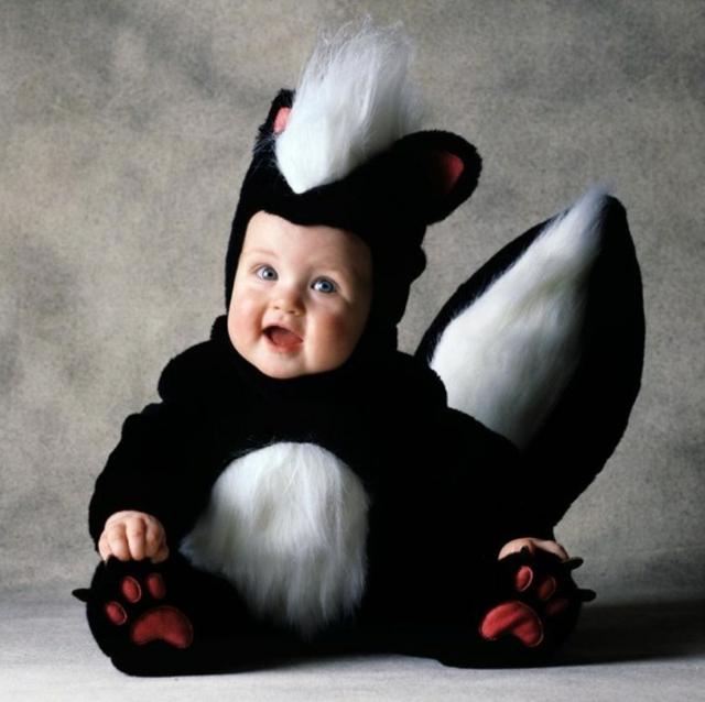 детски костюми хелоуин скункс