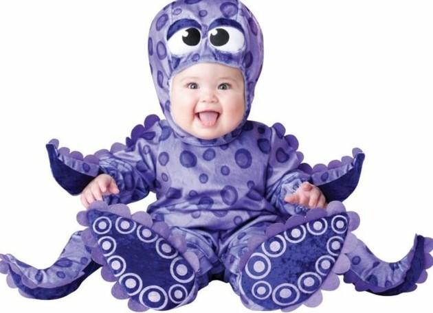детски костюми хелоуин октопод