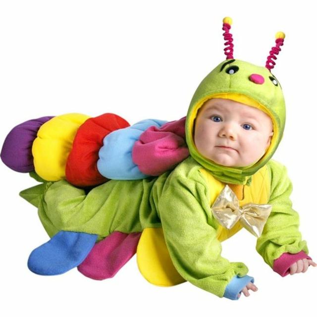 детски костюми хелоуин гъсеница