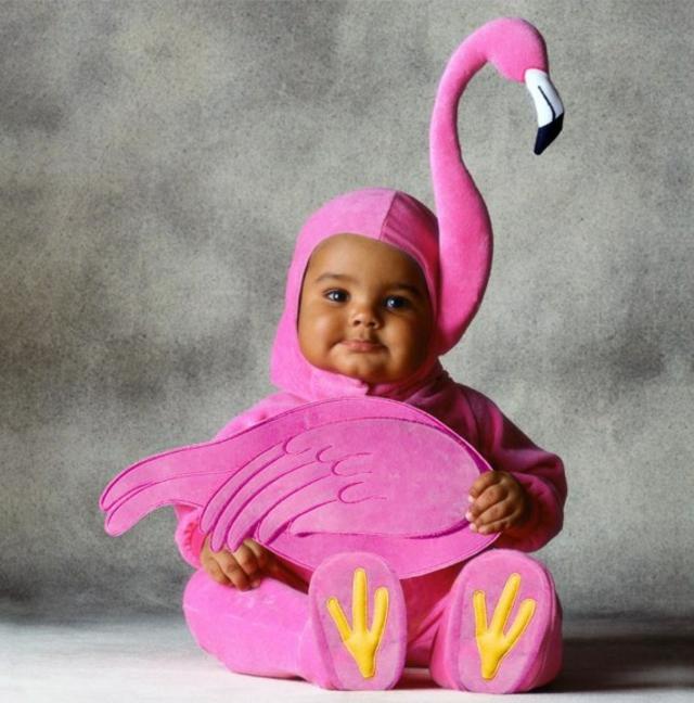 детски костюми хелоуин фламинго