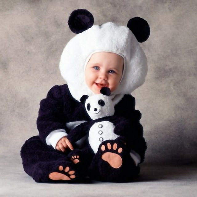 детски костюми хелоуин панда