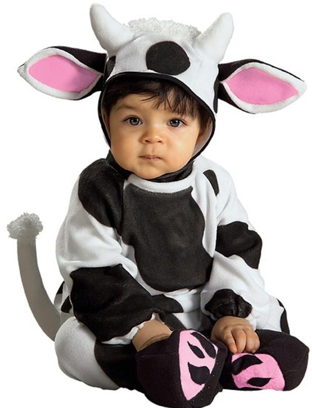 детски костюми хелоуин крава