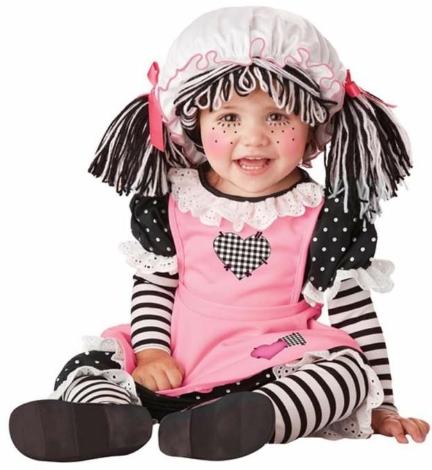 детски костюми хелоуин за момиче кукла