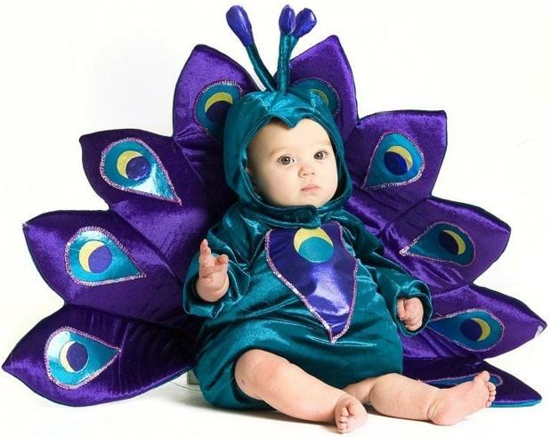 детски костюми хелоуин паун