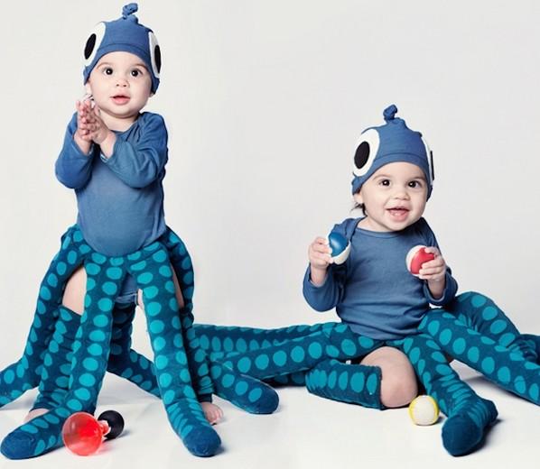 детски костюми за хелоуин октопод