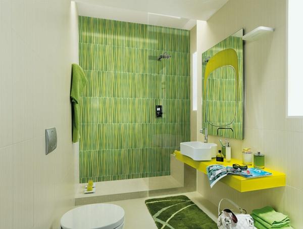 дизайн-на-баня-в-модерен-стил-зелено-бяло
