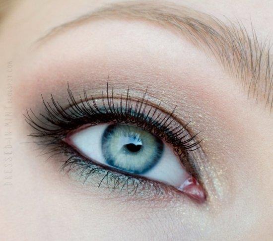 ежедневен-грим-за-очи-зелено