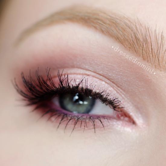 ежедневен-грим-за-очи-розово